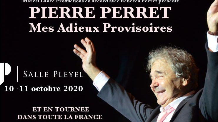 """Pierre Perret annonce ses adieux """"provisoires"""" sur Facebook (capture d'écran)"""