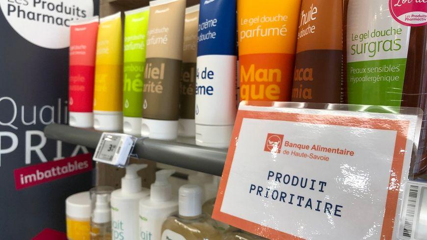 Cette semaine, plusieurs pharmacies de Haute-Savoie collectent des produits d'hygiène pour la Banque Alimentaire.