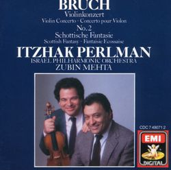 Concerto pour violon n°2 en ré min op 44 : 3. Finale - ITZHAK PERLMAN