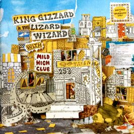 "Pochette de l'album ""Sketches of brunswick east"" par King Gizzard & The Lizard Wizard & Mild High Club"