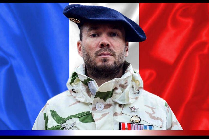 Le maréchal des logis-chef Jérémy Leusie du 93e Régiment d'artillerie de montagne de Varces
