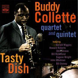 """Pochette de l'album """"Tasty dish"""" par Buddy Collette"""