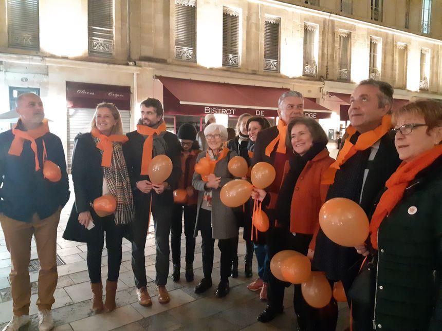 Le maire de Nîmes et plusieurs élus ont soutenu l'initiative du club Soroptimist