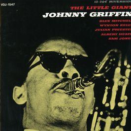 """Pochette de l'album """"The little giant"""" par Johnny Griffin"""