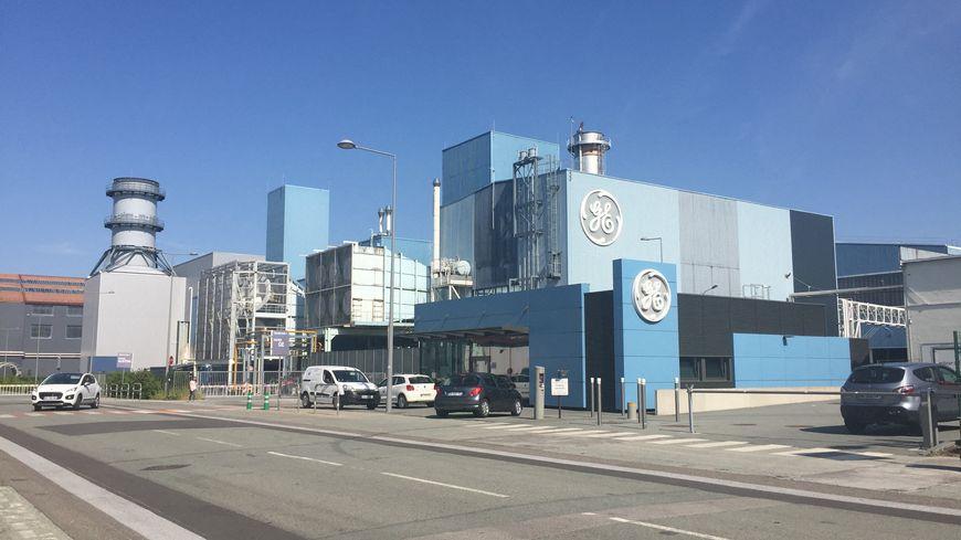Le site de l'usine General Electric à Belfort. Juin 2019.