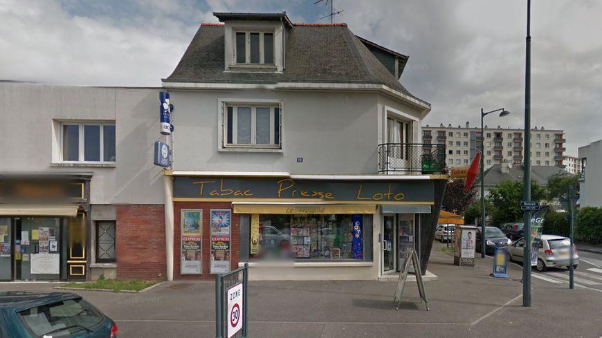 Le bar tabac braqué mercredi dernier dans le quartier de la Binquenais à Rennes