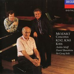 Concerto pour 3 pianos n°7 en Fa Maj K 242 : 3. Rondeau. Tempo di menuetto - ANDRAS SCHIFF