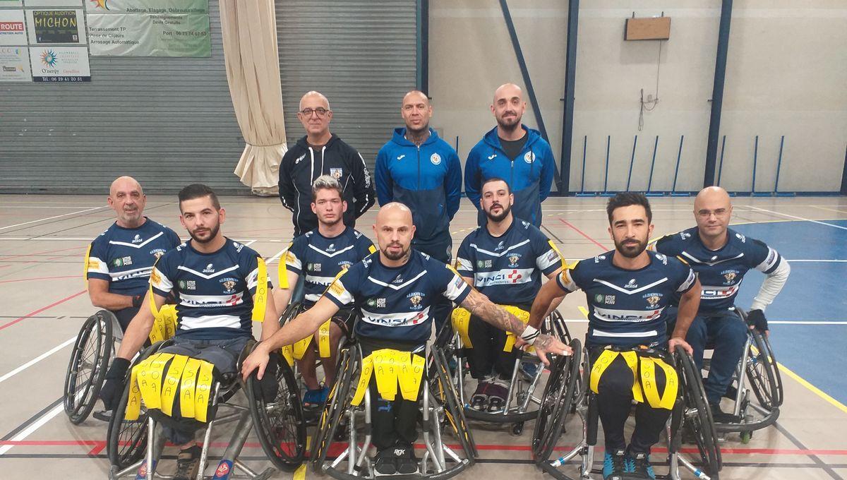 L'équipe de rugby-fauteuil d'Avignon cherche des nouveaux joueurs