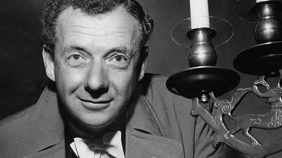 Le compositeur britannique Benjamin Britten (1913-1976)