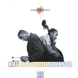"""Pochette de l'album """"Much in common"""" par Ray Brown"""
