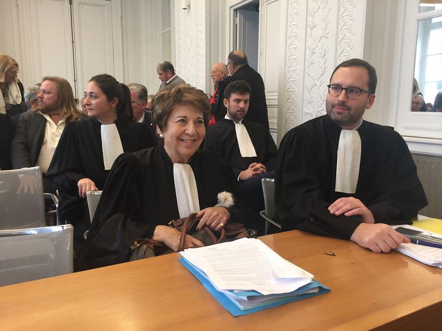 Corinne Lepage, ex ministre de l'environnement et avocate a plaidé pour les opposants à la déviation de Beynac