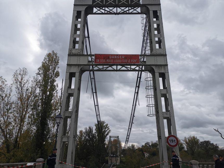 Le pont de Mirepoix-sur-Tarn