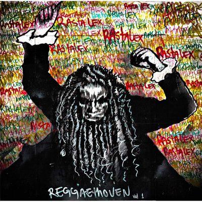 "Pochette de l'album ""Reggaethoven / Vol. 1"" par Rastalex"