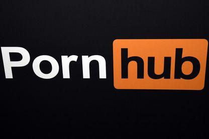 """Logo de """"Pornhub"""", site web de vidéos pornographiques."""