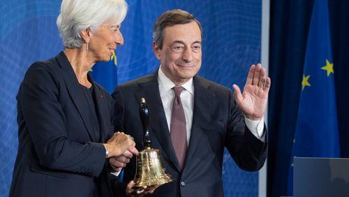 Changement à la tête de la BCE : le lourd héritage de Draghi