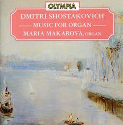 Suite de jazz n°1 : Valse - réduction pour orgue - MARIA MAKAROVA