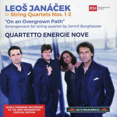 QUATUOR ENERGIE NOVE  HANS LIVIABELLA  BARBARA CIANNAMEA  IVAN VUKCEVIC  FELIX VOGELSANG sur France Musique