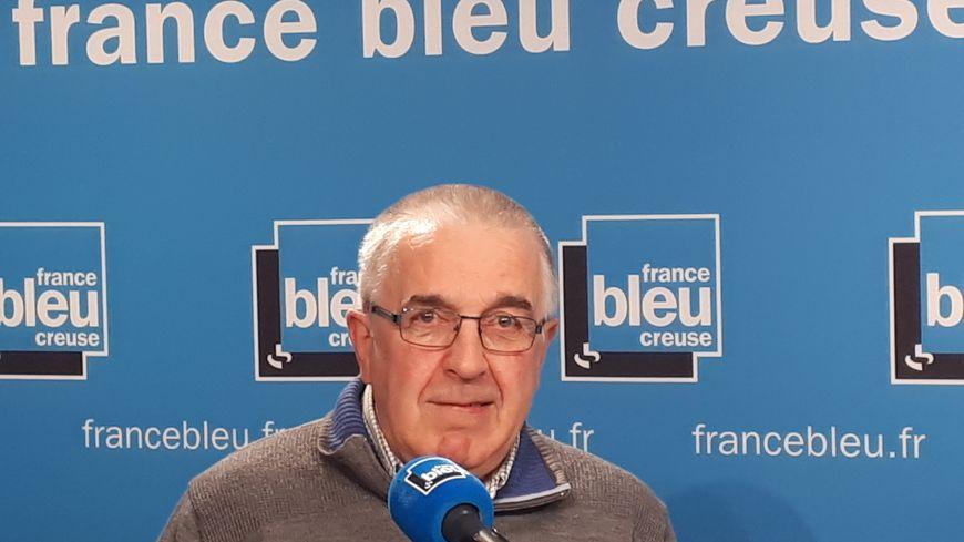 Alain Gravillon, président de la banque alimentaire en  Creuse
