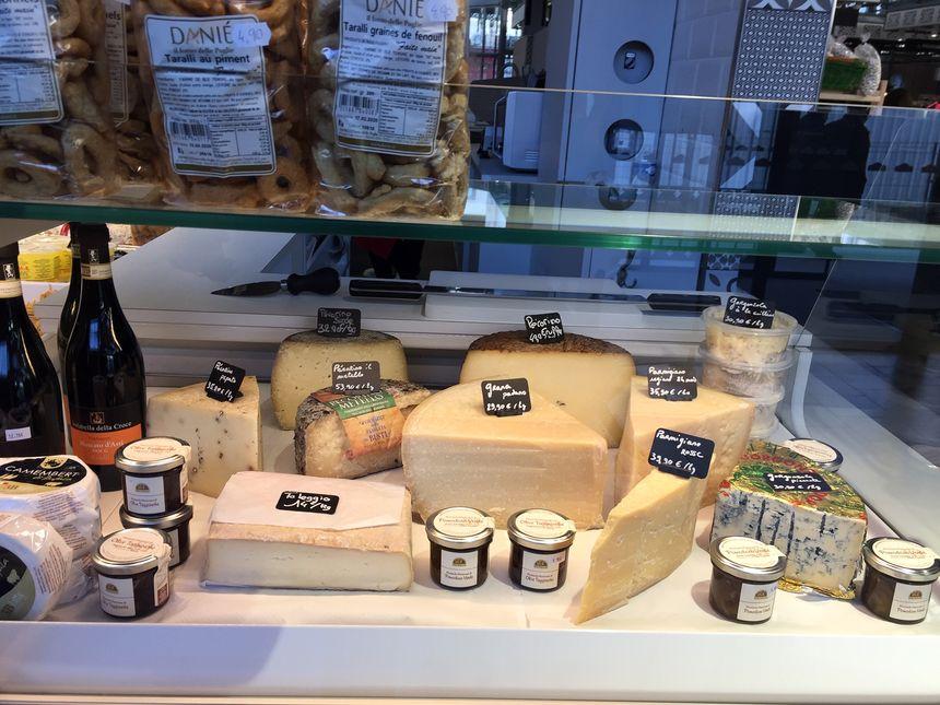 Les saveurs de l'Italie passent aussi par les fromages!