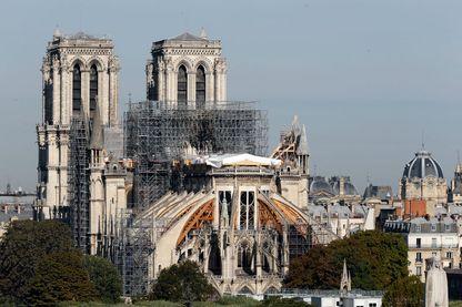 Notre-Dame de Paris, le 6 septembre 2019.