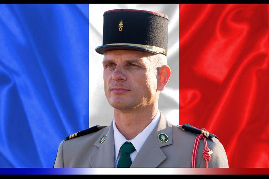 Le sergent-chef Andreï JOUK du 2e Régiment étranger de génie de Saint-Christol.