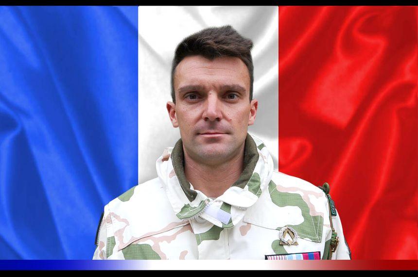 Maréchal des logis-chef Alexandre Protin du 4e Régiment de chasseurs de Gap