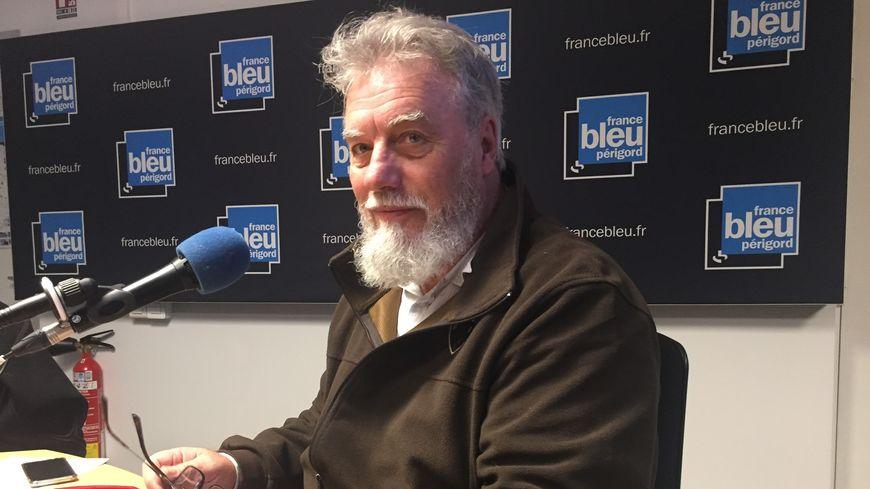 Hervé Chesnais franc maçon à Périgueux et président du Cercle philosophique et culturel des loges du grand Orient de France