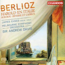 Harold en Italie op 16 : Sérénade d'un montagnard des Abruzzes à sa maîtresse - pour alto et orchestre - JAMES EHNES