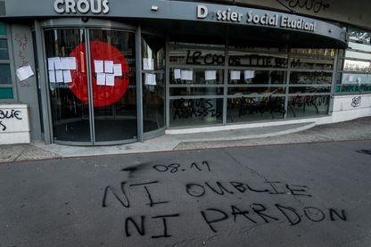 Anas 22 ans, s'est immolé devant le Crous de Lyon