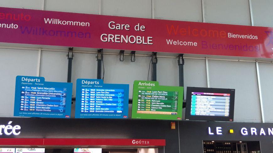 La gare de Grenoble (illustration).