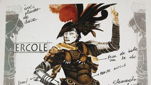 Hercule à l'opéra ou l'Art et la Flagornerie