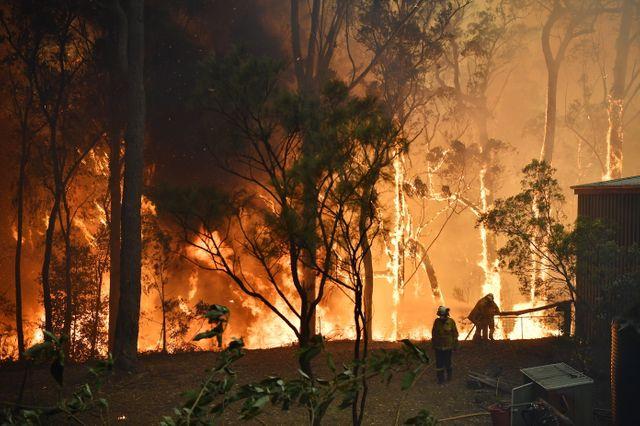 Des feux dévastent la côte est de l'Australie.