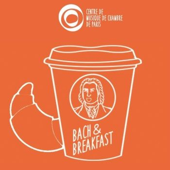 Affichette concert Cortot Bach & Breakfast