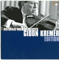Sonate n°4 pour violon et piano en ré min : Chaconne - Gidon Kremer