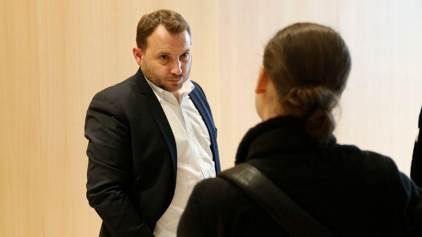 Maitre Martin Desrues avocat d'Anne Diana Clain lors du procès au tribunal de grande instance de Paris a la 16eme chambre correctionelle
