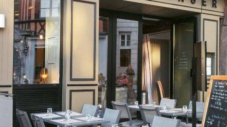 Restaurant Le Garde Manger, place de la Pucelle à Rouen