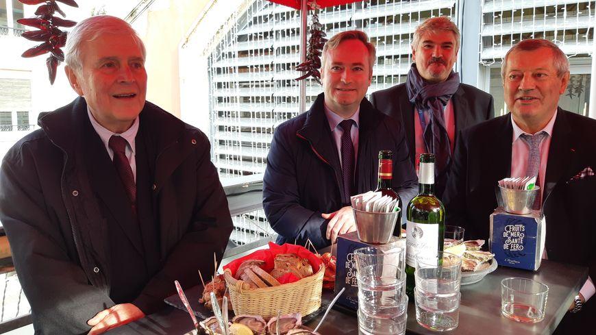 Municipales à Biarritz : Jean-Baptiste Lemoyne au soutien de Michel Veunac - France Bleu