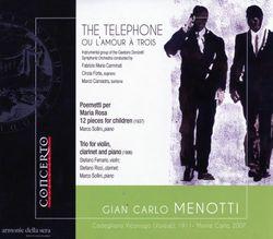 Trio : Cappricio - pour violon clarinette et piano - Stefano Ferrario
