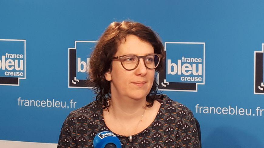 Delphine Bonnin, conseillère municipale et candidate à la mairie de Guéret