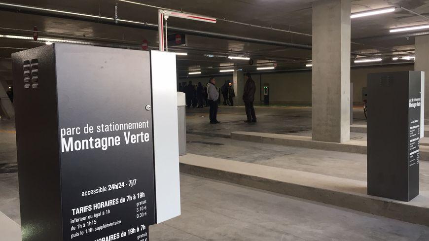 Un  nouveau parking souterrain avec 690 places