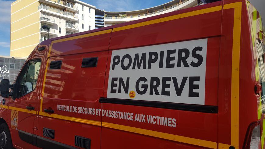 Les pompiers des Pyrénées-Orientales réclament plus de personnels et de moyens.