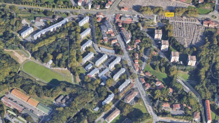 Le quartier de la Citadelle et Bedat à Bayonne