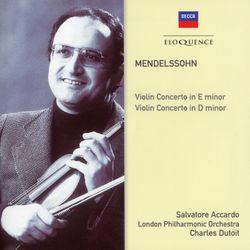 Concerto pour violon n°1 en ré min MWV O 4 : Allegro - Salvatore Accardo