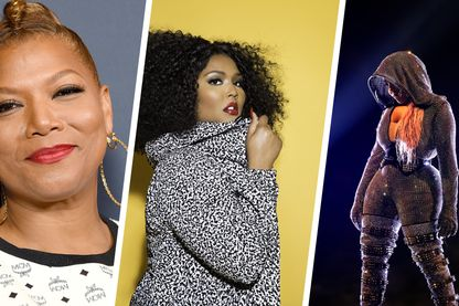 Queen Latifah © Getty Images / Lizzo © Jabari Jacobs / Lil' Kim © AFP