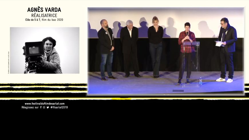 La cérémonie d'ouverture du Festival du Film de Sarlat