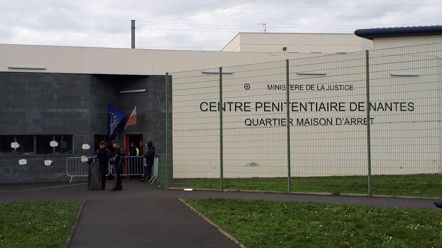 Le détenu qui s'est évadé devait réintégrer la maison d'arrêt de Nantes après la découverte de stupéfiants sur lui