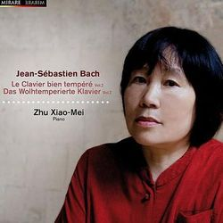 Clavier bien tempere livre II : Prelude n°2  en ut min BWV 871 pour piano - ZHU XIAO-MEI
