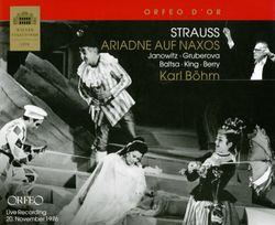 Ariadne auf Naxos TrV 268a op 60 : Gibt es kein Hinüber (Acte I) Ariane Bachus Najade Dryade Echo et Zerbinetta - ERICH KUNZ