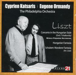 Concerto pour piano dans le style hongrois S 714 - arrangement pour paino et orchestre - CYPRIEN KATSARIS