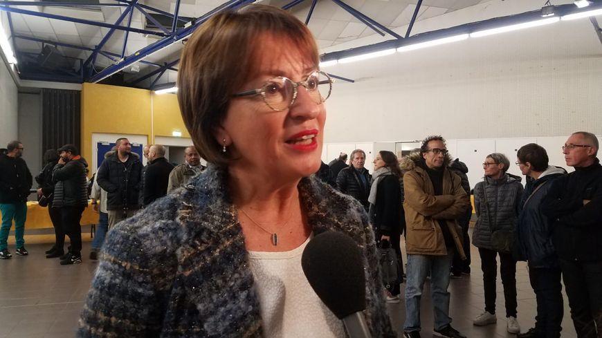 La députée socialiste de la Sarthe Marietta Karamanli est candidate à la mairie du Mans en 2020